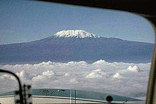 Picture I took while flying a Cessna 402 out of Amboseli, when I flew for Mombasa Air Services, 1979