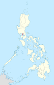Map of the Philippines highlighting the National Capital Region