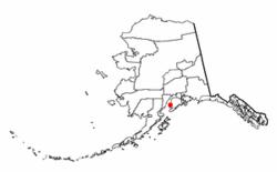 Location of Ninilchik, Alaska