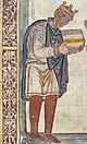 King Athelstan from All Souls College Chapel