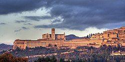 Panorama of Assisi