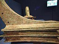 bronze Carthaginian naval ram, circa 240 BC