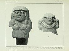 Two ancient antropomorphic figures from Peru