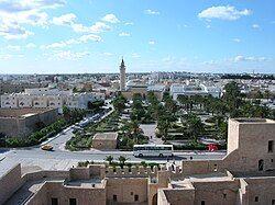 Monastir from the ribat's tower
