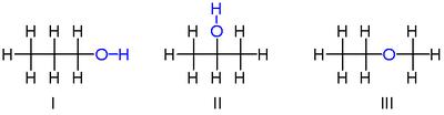 丙醇的异构体
