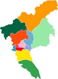 Guangzhou City districts