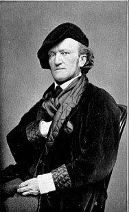 Photograph of German composer Richard Wagner