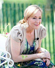 Rowling at the White House in 2010