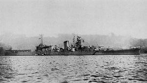 1943年于吴市拍摄的大淀号