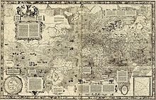 Mercator's map of the world