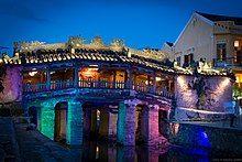Photograph of Hội An, a UNESCO World Heritage Site and a major tourist destination