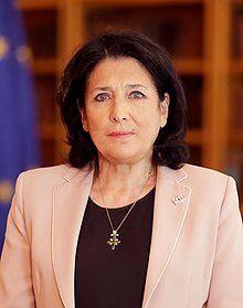 Victory Day - Europe Day 2020 Address Photo of Salome Zourabichvili (cropped).jpg