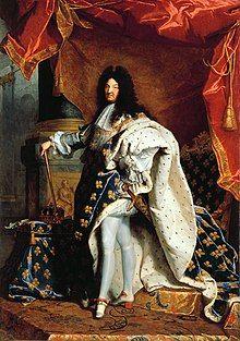 Portrait of Louis XIV aged 63