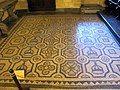 Palazzo dei gran maestri di rodi, mosaico bizantino da kos occ.le, 450-500 ca..JPG