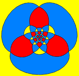 Rhombicosidodecahedron stereographic projection triangle.png