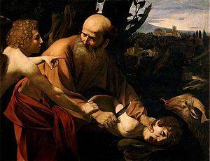 Sacrifice of Isaac-Caravaggio (Uffizi).jpg