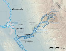 斯坦尼斯劳斯河流域图