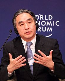 Tatsuo Hirano - World Economic Forum on East Asia 2012 crop.jpg