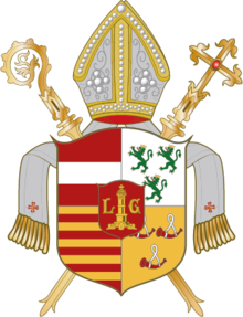 Coat of arms of the Diocese of Liège