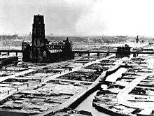Rotterdam, Laurenskerk, na bombardment van mei 1940.jpg