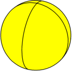 Spherical square hosohedron.png