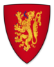 Coat of arms of William d'Aubigny, Lord of Belvoir Castle.png