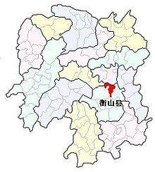 Hengshan county.JPG