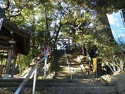本丸迹(唐泽山神社)
