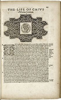 North's translation of Plutarch.jpg