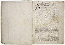 Arcadia manuscript ca. 1585.jpg