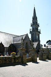 The church in Guissény
