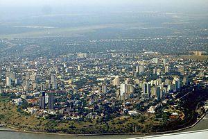 马普托市中心