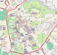 St John's College, Cambridge is located in Central Cambridge