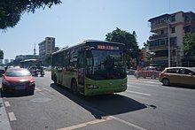 湛江的公共汽车