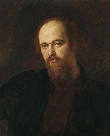 Portrait of Dante Gabriel Rossetti c. 1871, by George Frederic Watts