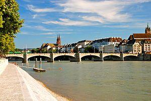Middle Bridge, Basel, Switzerland.JPG