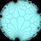 Order-3-infinite floret pentagonal tiling.png
