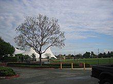 Tents next to Football Field, University of La Verne.jpg