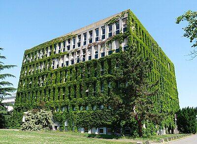 生物技术学院大楼。