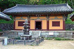 Korea-Andong-Bongjeongsa 3040-06 Geungnakjeon.JPG