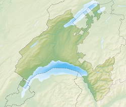 Lausanne is located in Canton of Vaud