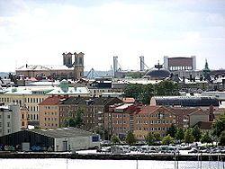 卡尔斯克鲁纳市中心