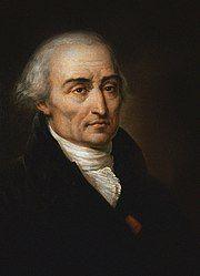 Painting of Joseph-Louis Lagrange