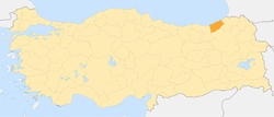 Locator map-Rize Province.png