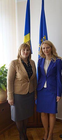 Liliana Palihovici and Inese Lībiņa-Egnere (cropped).jpg