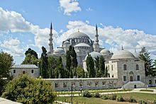 Süleymaniye Mosque exterior view.JPG