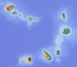 Praia is located in Cape Verde