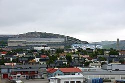View of the town in June 2013
