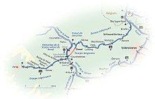 River Scarpe location