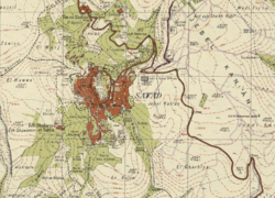 Safed Survey of Palestine map from 1942.png
